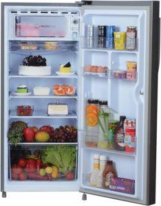 Haier 195 L refrigerator storage