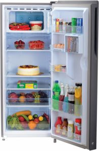 Haier 220 L 4 Star Direct-Cool Single Door Refrigerator storage