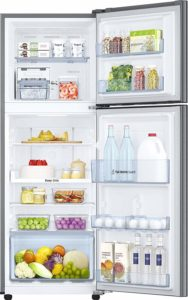 Samsung 253 L 4 Star Frost Free Double Door Refrigerator storage