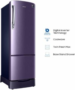 Samsung 255 L 4 Star Direct Cool Single Door Refrigerator highlights