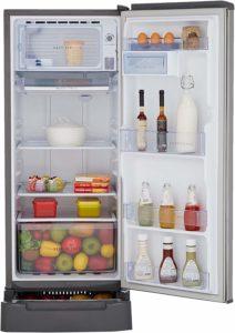 Whirlpool 200 L refrigerator storage