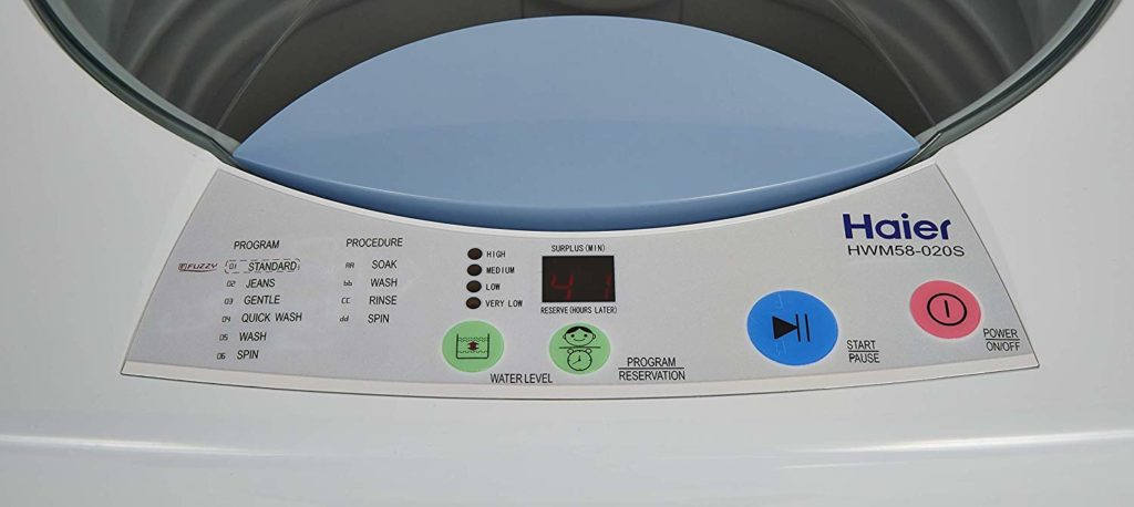 Review of Haier Fully-Automatic Top Loading Washing Machine under Rs 15000